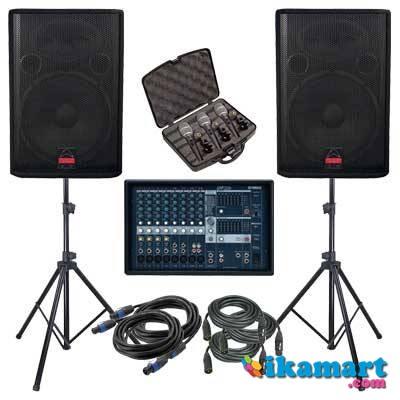 Jual Sound System Murah Speaker Power Ampli Mixer Mic