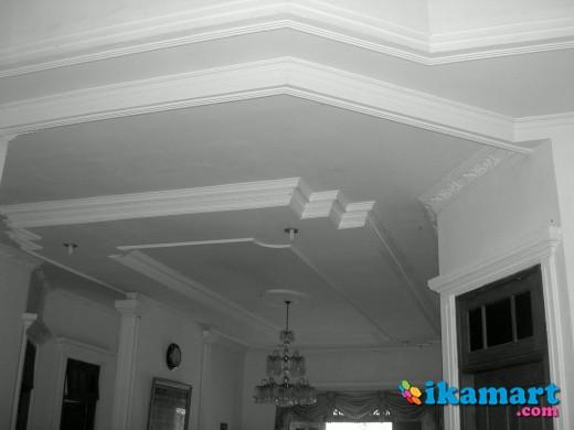 Harga pemasangan plafon partisi gypsum padilah gypsum 0813 - Planchas de yeso ...