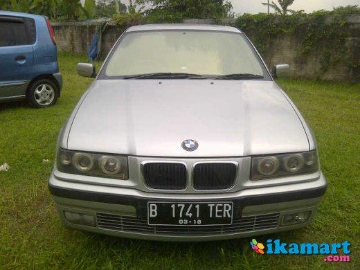 bmw 323i 2.5cc manual thn 1997 silver good condition