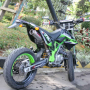 Kawasaki klx 150 modif supermoto banyak bonus bandung