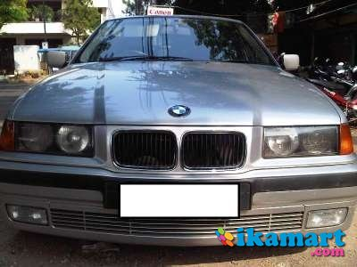 jual bmw 320i silver second
