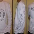 Longshirt Crazy Inc Icon White/Black