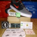 Nike SB Zoom Antrachite/University Red Original