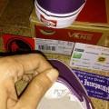 Vans Slip On Plum Purple/True White Original