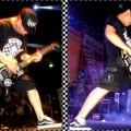 T-Shirt Crazy Inc Shield Checkerboard Black/White