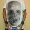 T-Shirt Emma Hewitt Skull 3D Official