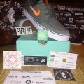 Nike Stefan Janoski Canvas Mica Green/Atomic Orange Original