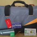 New Balance Duffle Holdall Team Multi Grey