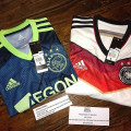 #YearEndSale #CrazyIncYES Adidas Football Jersey Ajax and Germany Original