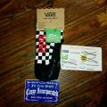 Vans Low Ankle Socks Checkerboard Black/WHite Original