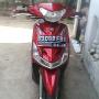 Jual Motor Yamaha Mio Smile Th.2011 Merah Marun