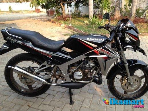 Jual Ninja 150 R superkips tahun 2010 hitam - Motor
