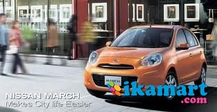 jual nissan march 1.2 a t