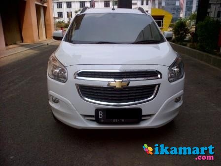 dijual chevrolet spin 1.5 ltz at 2013 putih