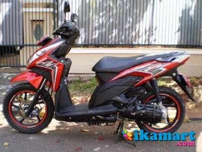 Jual honda vario techno 2011 merah hitam pajak panjang motor for Western hills honda yamaha cincinnati oh