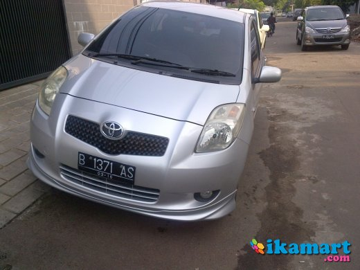 jual yaris s limited 2006 silver full carbon