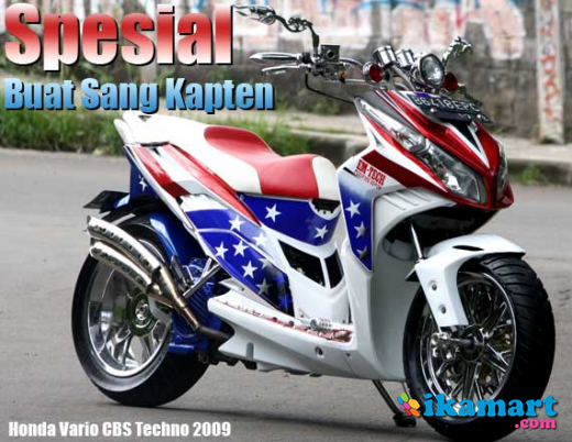 CBS 2009 Full MODIF (Best Offer) - Motor Bekas Honda Vario Techno CBS ...