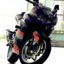 Jual Kawasaki Ninja 250 Ungu Modifikasi