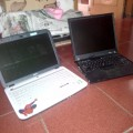 Laptop Acer dan Lenovo