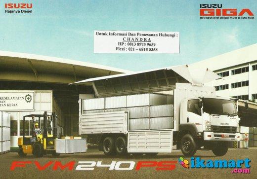 wing box 9.7 meter isuzu fvm w