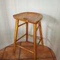 Bar stool retro kayu jati