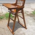 Baby chair kayu jati
