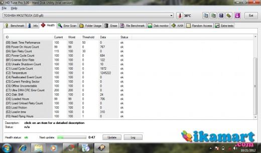 Netbook Toshiba NB520 MULUS MURAH