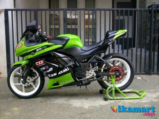 Top modif ninja 250 hijau