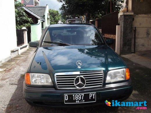mercedes benz c200 1996 km40ribuan -bandung-