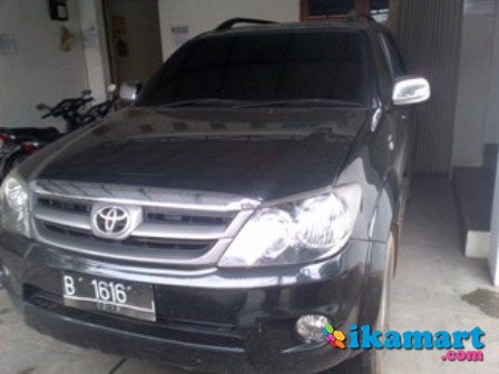 toyota fortuner 2.5 g manual solar tahun 2007
