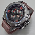 Jam Tangan Harley Davidson 6295 Brown Black Red