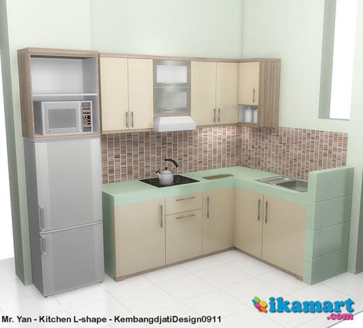gambar dekorasi dapur minimalis desain rumah