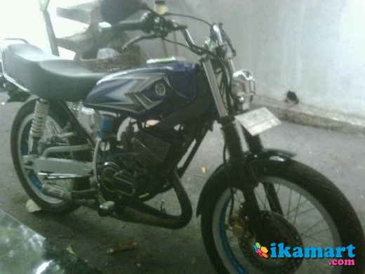 Jual Rx King 2003 Biru Modif Gentha Motor