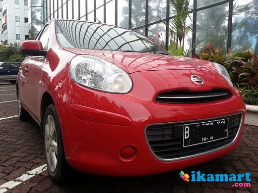 jual nissan march 2011 at merah, kalibata