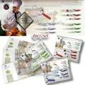 Jual Pisau dapur keramik Kitchen King AntiBacteria Set 4 pcs Harga grosir murah