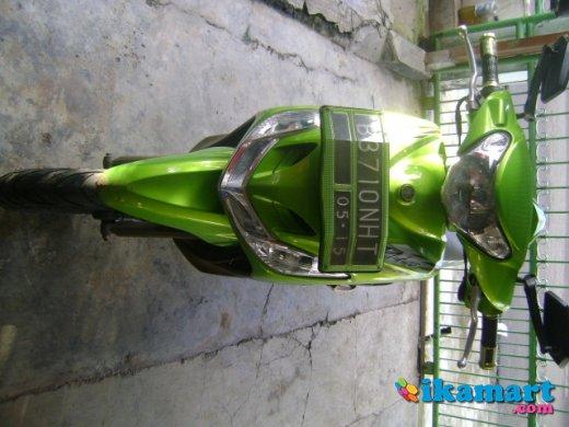 Jual Mio Sporty 2010 Hijau Motor