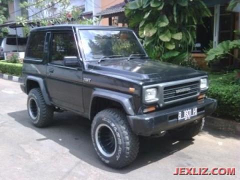 Daihatsu taft gt f70 4x4 diesel 1994 mesin sehat, suara kering - Mobil ...