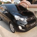 All New KIA Picanto 1.2 Manual th 2011 asli DK Hitam Velg R16