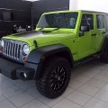 Wrangler JK Unlimited 4 Doors Pentastar Mountain Edition th 2012 asli Bali