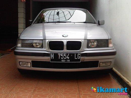 jual bmw 323i th.1998 silver full orisinil low km