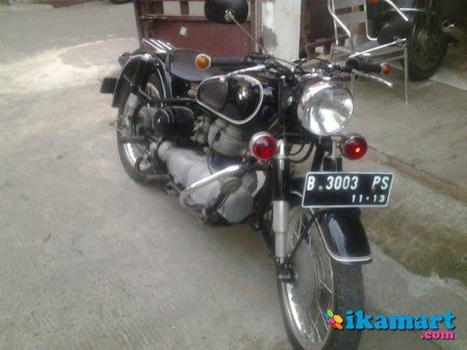 Dijual motor antik bmw r27 #4
