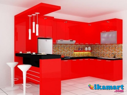 Kitchen set minimalis murah berkualitas rumah for Aksesoris kitchen set murah