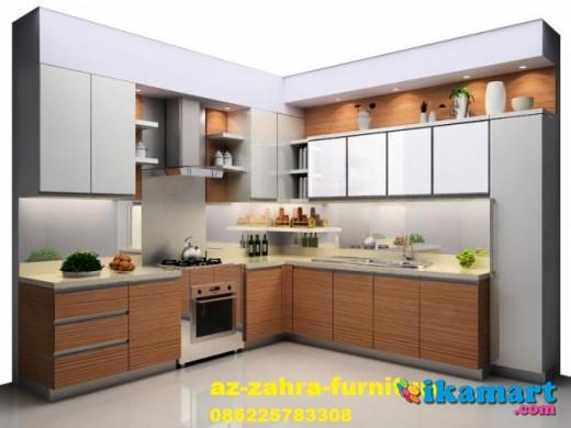 Kitchen set minimalis multiplek hpl semarang free desain for Kitchen set bekas