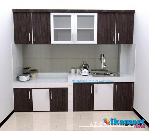 Kitchen Set Minimalis Multiplek HPL Semarang Dengan Harga