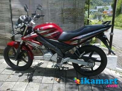 Jual Yamaha V-IXION 2012 Merah marun Mulus - Motor Bekas Yamaha Vixion
