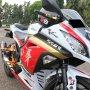 Jual Over Kredit Ninja250 FI Putih 2012 Modif Ringan