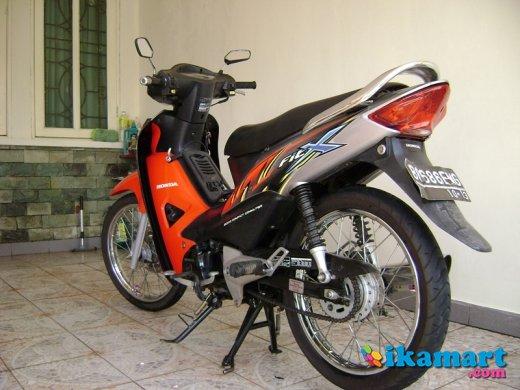 Jual Honda Fit X Tahun 2008 Warna Merah Silver