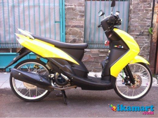 24 Terkini Modifikasi Motor Warna Kuning