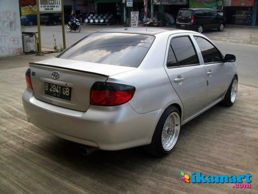 toyota new vios limo mt 2005 full variasi ex taksi blue. Black Bedroom Furniture Sets. Home Design Ideas