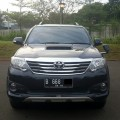 Dijual Toyota Fortuner TRD VNT 2013 Black Beauty